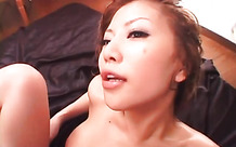 Gorgeous girl gets sweaty during hardcore fuck