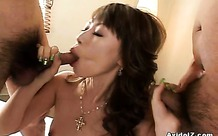 Horny japanese babe deeply fucked uncensored