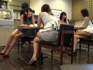 Japanese babe with a Short Skirt fucked
